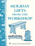 Holiday Gifts from the Workshop