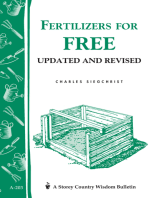 Fertilizers for Free