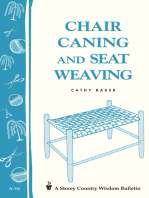 Chair Caning and Seat Weaving
