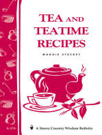 Tea and Teatime Recipes