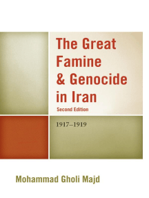 The Great Famine & Genocide in Iran: 1917-1919