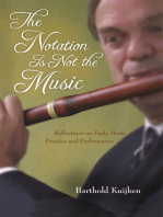 The Notation Is Not the Music
