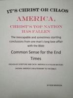 America, Christ's Top Nation has Fallen