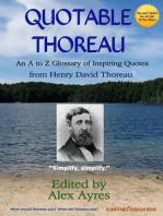 Quotable Thoreau