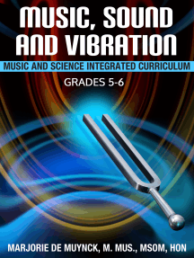 Music, Sound, and Vibration: Music and Science Integrated Curriculum