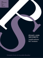 Peace and Security: Implications for Women