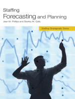 Staffing Forecasting and Planning