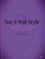 Say It with Style 2