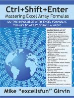 Ctrl+Shift+Enter Mastering Excel Array Formulas