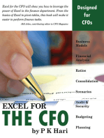 Excel for the CFO