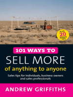 101 Ways to Sell More of Anything to Anyone