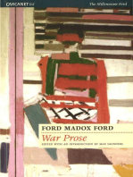 The War Prose