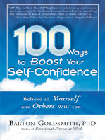 100 Ways to Boost Your Self-Confidence