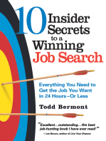 10 Inisder Secrets to a Winning Job Search