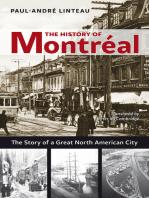 The History of Montréal