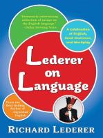 Lederer on Language