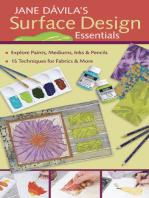 Jane Davila's Surface Design Essentials
