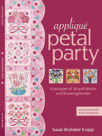 Applique Petal Party