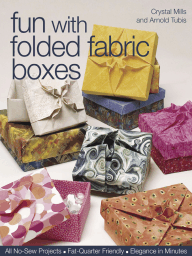 Fun With Folded Fabric Boxes