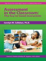 Assessment in the Classroom