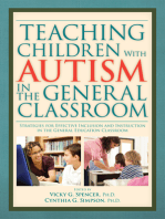 Teaching Children with Autism in the General Classroom