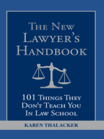 The New Lawyer's Handbook