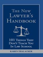 The New Lawyer's Handbook