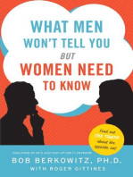 What Men Won't Tell You but Women Need to Know