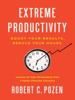 Extreme Productivity