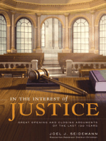 In the Interest of Justice