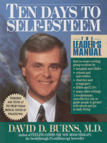 Ten Days to Self-Esteem: The Leader's Manual
