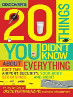 Discover's 20 Things You Didn't Know About Everything