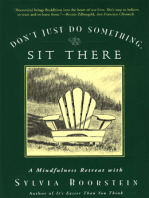 Don't Just Do Something, Sit There