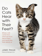 Do Cats Hear with Their Feet?