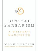 Digital Barbarism