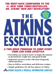 The Atkins Essentials: A Two-Week Program to Jump-start Your Low Carb Lifestyle