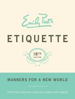 Emily Post's Etiquette, 18