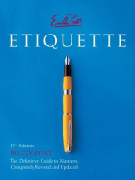 Emily Post's Etiquette 17th Edition