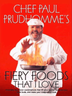 Fiery Foods That I Love