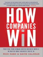 How Companies Win