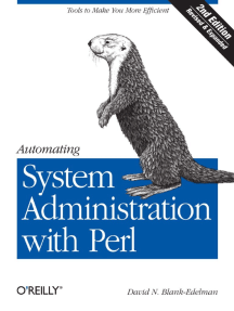 Automating System Administration With Perl Second Edition