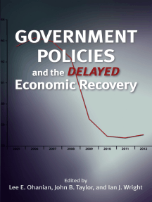 Government Policies and the Delayed Economic Recovery