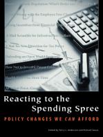 Reacting to the Spending Spree