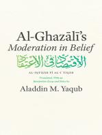 """Al-Ghazali's """"Moderation in Belief"""""""