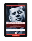 johnny-we-hardly-knew-ye Free download PDF and Read online