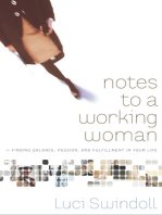 Notes to a Working Woman