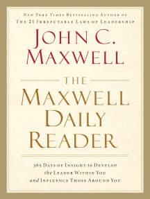 The maxwell daily reader by john c maxwell by john c maxwell book actions fandeluxe Images