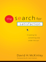 The Search for Satisfaction