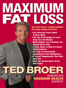 Maximum Fat Loss: You Don't Have a Weight Problem! It's Much Simpler Than That.