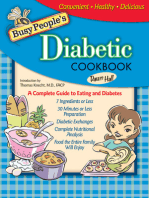 Busy People's Diabetic Cookbook